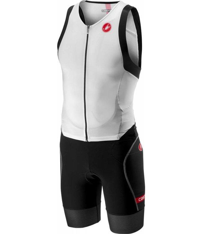 2195e15dbb2 Castelli Free Sanremo Suit Sleeveless White/Black - AthleteSportsWorld.com  - TRIATHLON   SWIM   BIKE   RUN