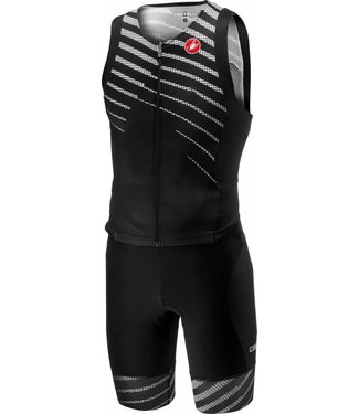 Castelli Castelli Free Sanremo Suit Sleeveless Black / White