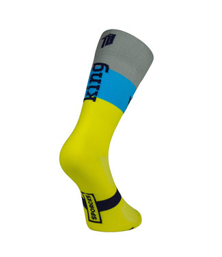 Sporcks Sporcks King Yellow Cycling Socks