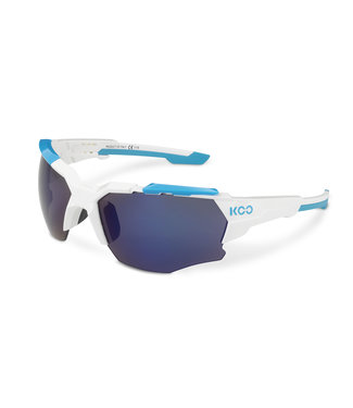 Kask Koo Lunettes de cyclisme Kask Koo Orion Blanc / Bleu clair