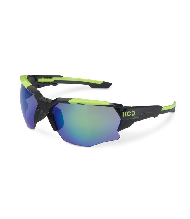 d2228867fb0887 Kask Koo Orion Fietsbril Zwart   Lime - AthleteSportsWorld.com ...