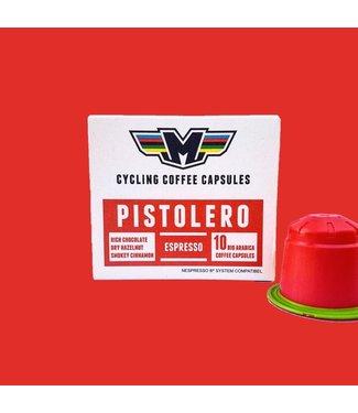 Il Magistrale Cycling Coffee Capsules d'espresso Il Magistrale Pistolero (10 pièces)