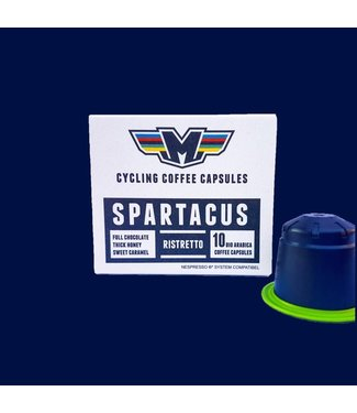 Il Magistrale Cycling Coffee Il Magistrale Spartacus Ristretto Bio capsule (10 stuks)