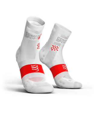 Compressport Chaussettes Compressport Running PRORACING High Ultralight V3.0 Blanc
