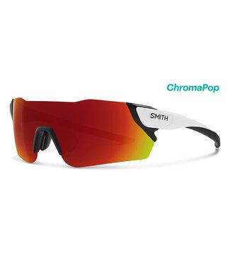 SMITH Gafas de ciclismo Smith Attack blanco mate con lente rojo croma