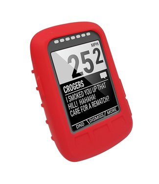 TuvLuv Cases Tuvluv Wahoo Elemnt Bolt Red Silicone Case Protection