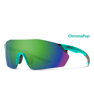 SMITH Gafas de ciclismo Smith Reverb Mat-Jade con lente Chroma Green