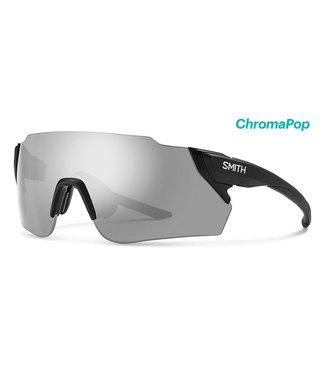 SMITH Gafas de ciclismo Smith Attack Max negro mate con lentes Chroma Platinum