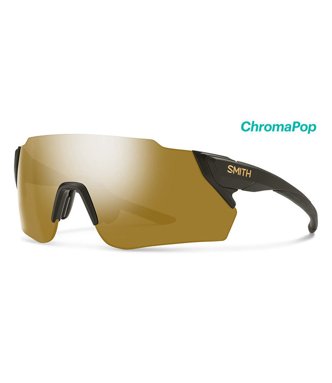 SMITH Gafas de ciclismo Smith Attack Max negro mate con lentes Gravy Chroma Bronze