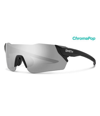 SMITH Smith Attack Cycling Glasses Matt Black with Chroma Platinum lens