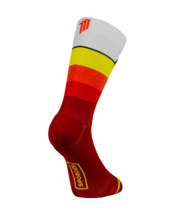 Sporcks Calcetines deportivos Rojo de Sporcks HR