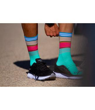 Sporcks Sporcks Fulcrum Green Running Socks