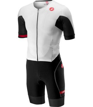 Castelli Castelli Free Sanremo Trisuit short sleeves White / Black