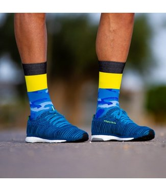 Sporcks Calcetines de correr azules Sporcks Air Sock One