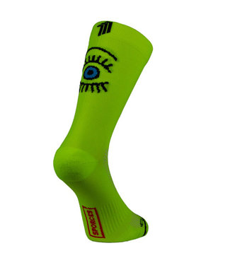 Sporcks Sporcks Eye Yellow Running socks