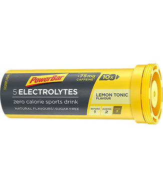 Powerbar Fichas de electrolitos de la barra de potencia (10 pestañas)