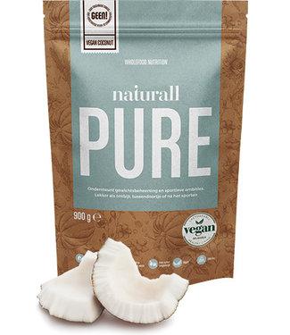 Naturall Nutrition Polvo de proteína de coco Naturall Pure Vegan