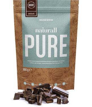 Naturall Nutrition Polvo de proteína de chocolate puro Naturall