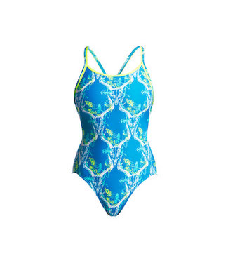 Funkita Funkita One Piece Diamond Back Dames Thirsty Cow