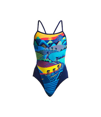 Funkita Funkita One Piece Single Strap Ladies Allez Allez