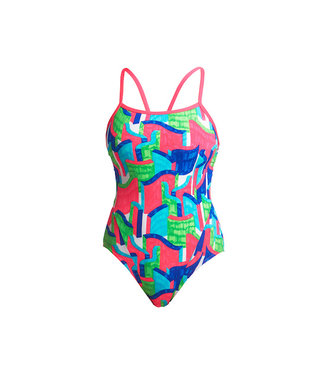 Funkita Funkita One Piece Single Strap Ladies Texta Towers