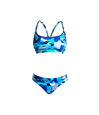 Funkita Funkita Sports Top en Broekje Dames Sea Spray