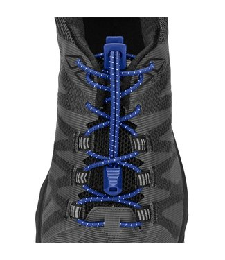 Lock Laces Nathan Run Laces Donker Blauw