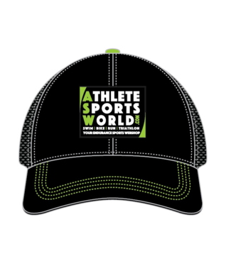 AthleteSportsWorld.com ASW Boco Technical Trucker Cap Noir