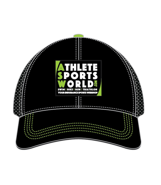 AthleteSportsWorld.com Cappellino Trucker ASW Boco Technical Nero
