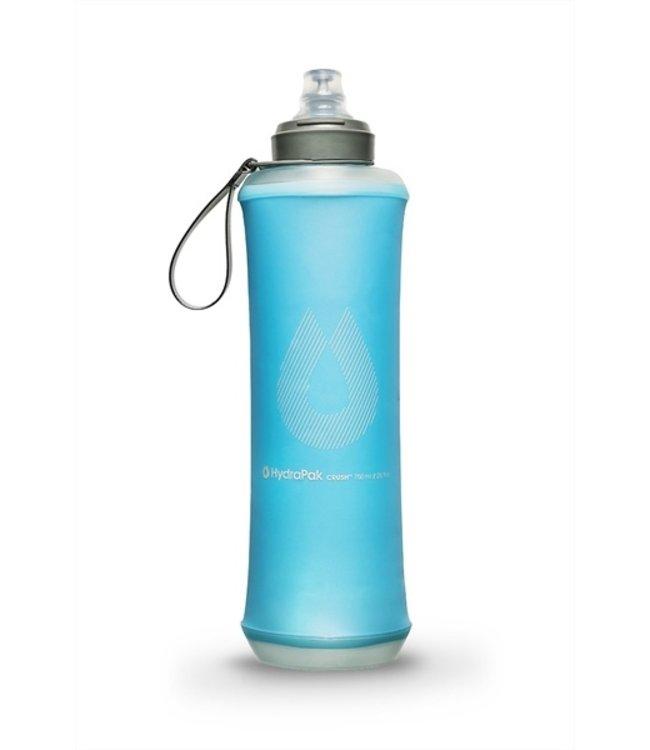Hydrapack Hydrapak CRUSH BOTTLE 750ml drinkfles Malibu Blue