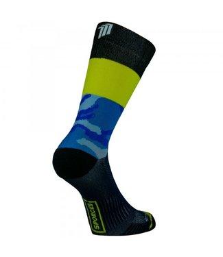 Sporcks Chaussettes de running Sporcks Air Sock One, bleu