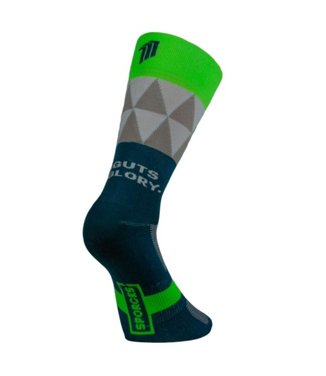 Sporcks Sporcks Col Deze Green Cycling Socks