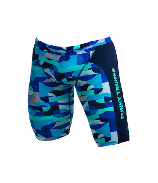Funky Truncks Funky Trunks Jammers Training Mens Sea Spray