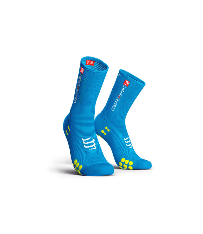 classic styles running shoes presenting Chaussettes Compressport PRORACING V3.0 Ice Blue