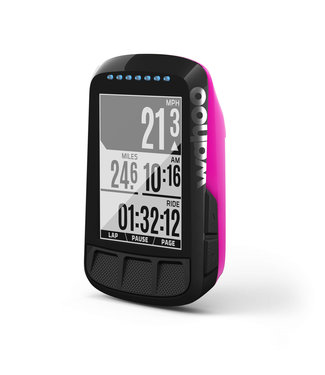 Wahoo Fitness Wahoo ELEMNT BOLT Computer da bicicletta GPS rosa / navigazione per biciclette