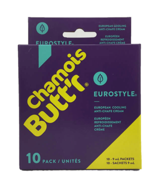Chamois Butt'r Camoscio Butt'r Eurostyle Cooling camoscio creme  (10x 9 ml)