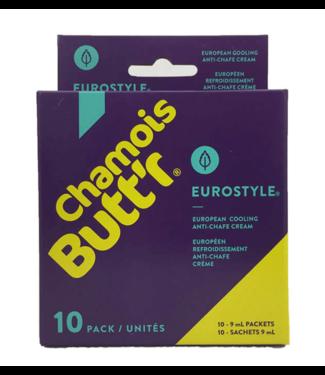 Chamois Butt'r Chamois Butt'r Eurostyle Cooling Chamois Creme (10x 9 ml)