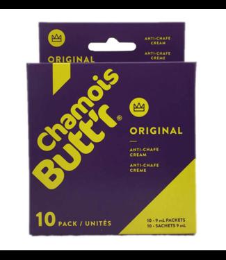Chamois Butt'r Confezione di circonferenza crema di camoscio Butt'r originale (10x9ml)