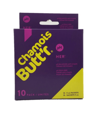 Chamois Butt'r Chamois Buttr 'Original chamois creme per donna - (10x 9ml)