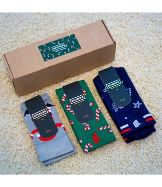 Sporcks Sporcks Christmas Pack Run and Cyclingsocks
