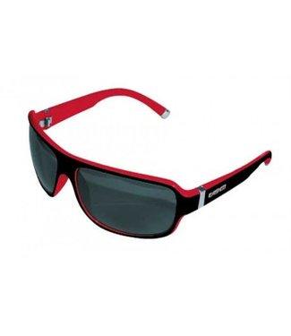 Casco Occhiali da sole Casco SX61 bicolore nero-rosso