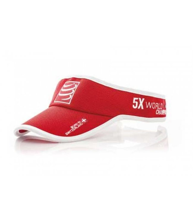 Compressport Compressport Visorcap Rood
