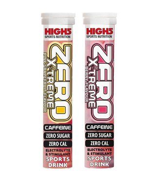 High5 Bebida de electrólito de hidratación ZERO XTREME (20 pestañas)