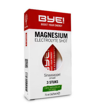 BYE! ¡BYE! Disparo de magnesio electrolítico (3x)