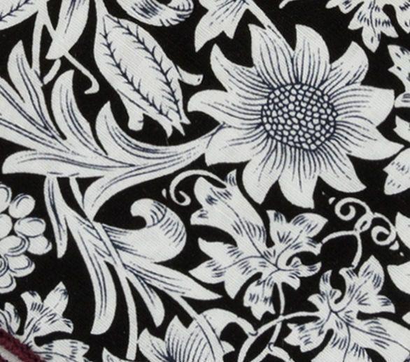 English Fashion Smart Casual Floral Handkerchief