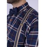 English Fashion Spaghetti Strap Suspenders Striped