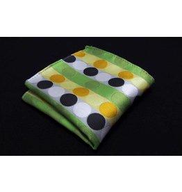 English Fashion pochette Groen met Dots