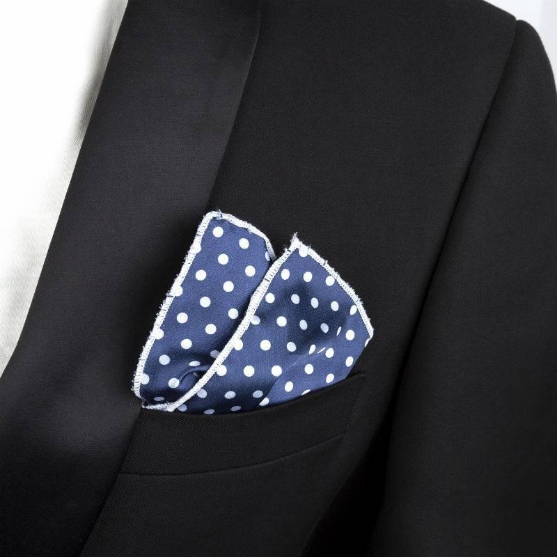 English Fashion pochette Polkadot Blauw
