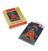 Wild & Wolf Leren Card Holder - Paul Thurlby