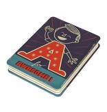Wild & Wolf A is for Awesome Notitieblok - Paul Thurlby